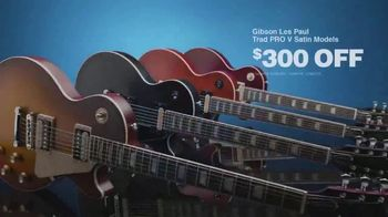 Guitar Center Presidents Day Sale TV Spot, 'Gibson Guitars and Alesis E-Kit' - Thumbnail 5