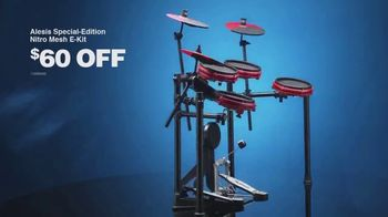 Guitar Center Presidents Day Sale TV Spot, 'Gibson Guitars and Alesis E-Kit' - Thumbnail 8