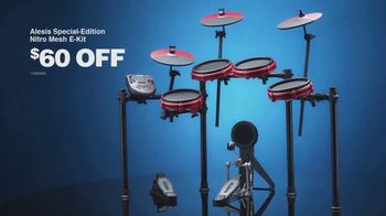 Guitar Center Presidents Day Sale TV Spot, 'Gibson Guitars and Alesis E-Kit' - Thumbnail 9