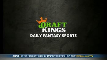 DraftKings Pools TV Spot, 'UFC 257: Tonight's Action: $25,000 Pool' - Thumbnail 1