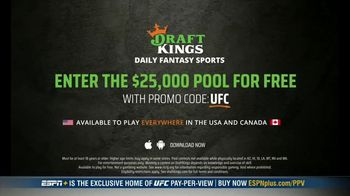 DraftKings Pools TV Spot, 'UFC 257: Tonight's Action: $25,000 Pool' - Thumbnail 8