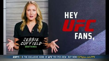 DraftKings Pools TV Spot, 'UFC 257: Tonight's Action: $25,000 Pool' - Thumbnail 2