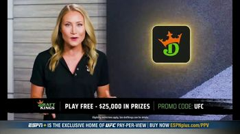 DraftKings Pools TV Spot, 'UFC 257: Tonight's Action: $25,000 Pool' - Thumbnail 7