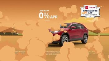 Toyota Presidents Day Sales Event TV Spot, 'Lincoln's Bicycle: RAV4' [T2] - Thumbnail 4
