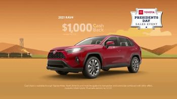 Toyota Presidents Day Sales Event TV Spot, 'Lincoln's Bicycle: RAV4' [T2] - Thumbnail 5