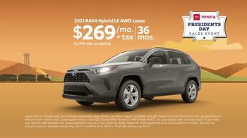 Toyota Presidents Day Sales Event TV Spot, 'Lincoln's Bicycle: RAV4' [T2] - Thumbnail 7