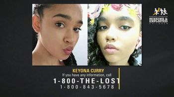 National Center for Missing & Exploited Children TV Spot, 'Keyona Curry' - Thumbnail 8