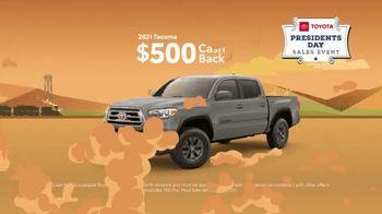 Toyota Presidents Day Sales Event TV Spot, 'Boat Selfie: Trucks' [T2] - Thumbnail 4