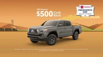 Toyota Presidents Day Sales Event TV Spot, 'Boat Selfie: Trucks' [T2] - Thumbnail 5