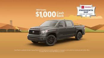 Toyota Presidents Day Sales Event TV Spot, 'Boat Selfie: Trucks' [T2] - Thumbnail 6
