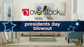 Overstock.com Presidents Day Blowout TV Spot, \'70% Off Select Items Plus An Extra 25% Off Area Rugs\'