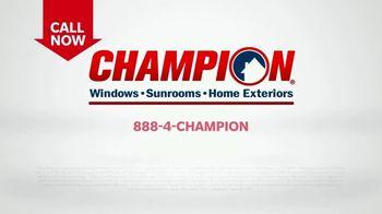 Champion Sunrooms TV Spot, 'Enjoy More Space' - Thumbnail 10