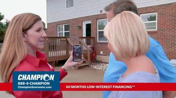Champion Sunrooms TV Spot, 'Enjoy More Space' - Thumbnail 5