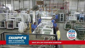 Champion Sunrooms TV Spot, 'Enjoy More Space' - Thumbnail 6