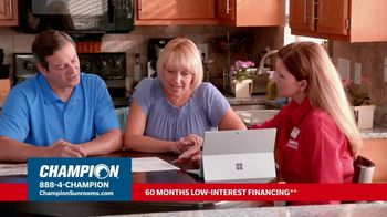 Champion Sunrooms TV Spot, 'Enjoy More Space' - Thumbnail 8