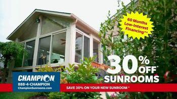 Champion Sunrooms TV Spot, 'Enjoy More Space' - Thumbnail 9