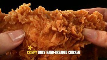 Carl's Jr. Hand-Breaded Chicken Tenders TV Spot, 'Smothering' - Thumbnail 1