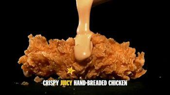 Carl's Jr. Hand-Breaded Chicken Tenders TV Spot, 'Smothering'