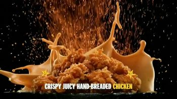 Carl's Jr. Hand-Breaded Chicken Tenders TV Spot, 'Smothering' - Thumbnail 3