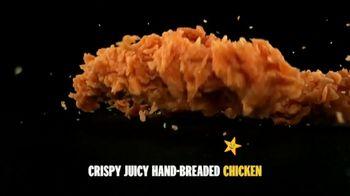 Carl's Jr. Hand-Breaded Chicken Tenders TV Spot, 'Smothering' - Thumbnail 5