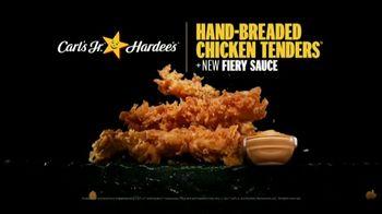 Carl's Jr. Hand-Breaded Chicken Tenders TV Spot, 'Smothering' - Thumbnail 9