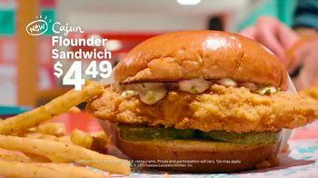 Popeyes Cajun Flounder Sandwich TV Spot, '@larkmonster' - Thumbnail 9