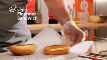 Popeyes Cajun Flounder Sandwich TV Spot, '@larkmonster' - Thumbnail 4