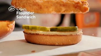 Popeyes Cajun Flounder Sandwich TV Spot, '@larkmonster' - Thumbnail 5