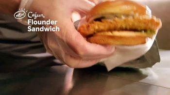 Popeyes Cajun Flounder Sandwich TV Spot, '@larkmonster' - Thumbnail 6