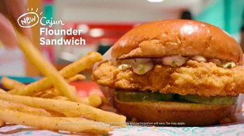Popeyes Cajun Flounder Sandwich TV Spot, '@larkmonster' - Thumbnail 8