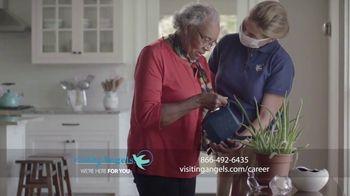 Visiting Angels TV Spot, 'Caregiving: Seniors Stay Safer at Home'
