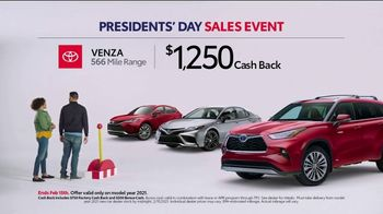 Toyota Presidents Day Sales Event TV Spot, 'Check This Out' [T2] - Thumbnail 2