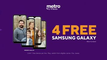 Metro by T-Mobile TV Spot, 'Rule Your Day: Four Free Galaxy Phones' - Thumbnail 7