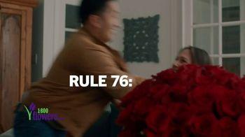 1-800-FLOWERS.COM TV Spot, 'Valentine's Rules' - Thumbnail 7