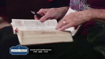 Andrew Wommack Ministries TV Spot, '2021 Gospel Truth Conference: Phoenix and Orlando' - Thumbnail 5