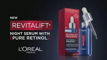 L'Oreal Paris Skin Care Revitalift Night Serum TV Spot, 'Visibly Reduce Wrinkles' Ft. Eva Longoria - Thumbnail 7