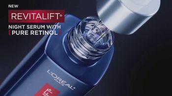 L'Oreal Paris Skin Care Revitalift Night Serum TV Spot, 'Visibly Reduce Wrinkles' Ft. Eva Longoria