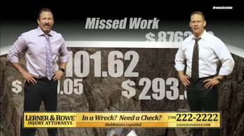 Lerner and Rowe Injury Attorneys TV Spot, 'Bottom Falling Out' - Thumbnail 2