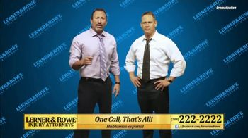 Lerner and Rowe Injury Attorneys TV Spot, 'Bottom Falling Out' - Thumbnail 5