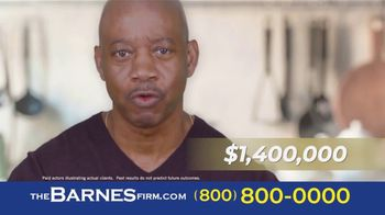 The Barnes Firm TV Spot, 'Truck Accident: $1.4 Million'