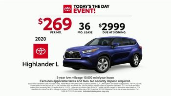 Toyota Today's the Day Event TV Spot, 'Hybrid Power' Song by Elvis Presley [T2] - Thumbnail 4