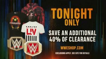 WWE Shop TV Spot, 'Bring It On: Save an Additional 40% Off Clearance' - Thumbnail 8
