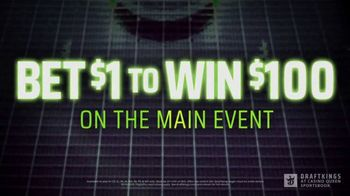 DraftKings at Casino Queen TV Spot, 'UFC 254: Bet $1 to Win $100' - Thumbnail 5