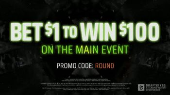 DraftKings at Casino Queen TV Spot, 'UFC 254: Bet $1 to Win $100' - Thumbnail 9