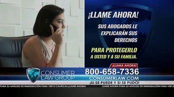 Consumer Law Group TV Spot, 'Ciudadanía estadounidense denegada' [Spanish] - Thumbnail 3