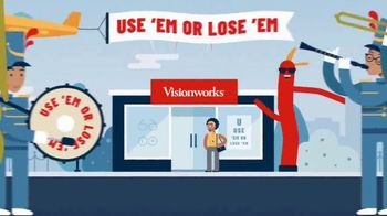 Visionworks TV Spot, 'Use Your 2020 Vision Benefits'