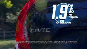 Honda Model Year End Sale TV Spot, 'In Stock: Civic' [T2] - Thumbnail 5