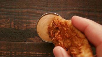 Zaxby's Chicken Finger Plate TV Spot, 'Saucebilities' - Thumbnail 4