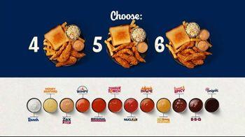 Zaxby's Chicken Finger Plate TV Spot, 'Saucebilities' - Thumbnail 8