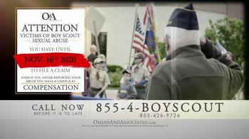 Oshan & Associates TV Spot, 'Important Message for Former Boy Scouts'